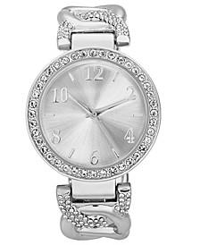 Women's Pavé Cuff Bracelet Watch 37mm