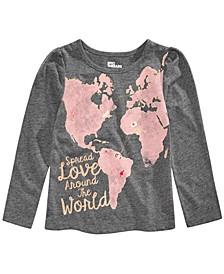 Little Girls World Love T-Shirt, Created for Macy's