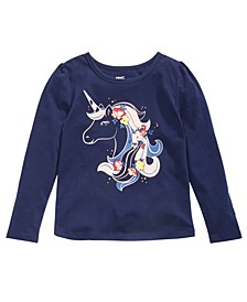 Little Girls Unicorn T-Shirt, Created for Macy's