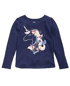 Epic Threads Little Girls Unicorn T-Shirt, Created for Macy's