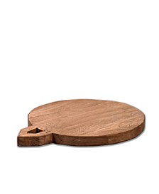 """VILLA 2 Solid Wood Chopping Board with 0.5"""" Wooden Legs"""