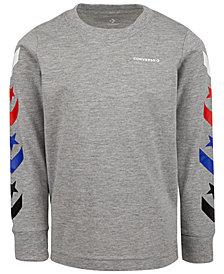 Converse Big Boys Chevron Logo T-Shirt