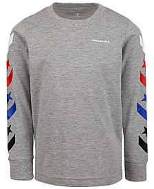 Converse Big Boys Chevron Logo T-Shirt