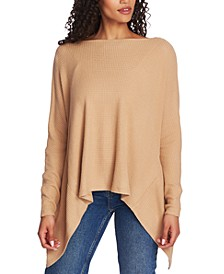 Asymmetrical Open-Back Top