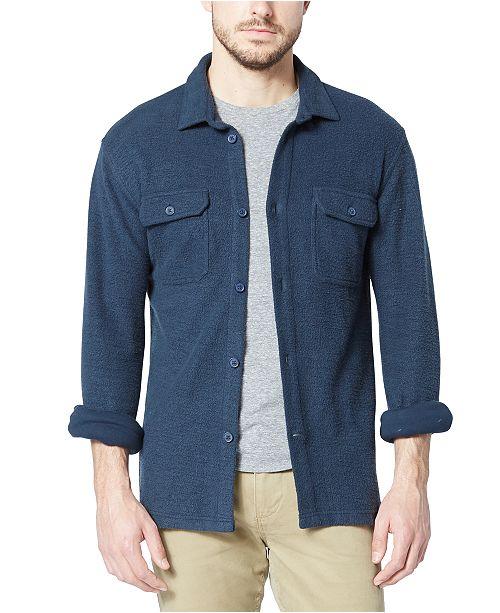 Dockers Men's Alpha Reverse Terry Shirt