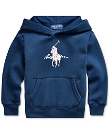 Polo Ralph Lauren Little Boys Vintage Fleece Pink Pony Sweatshirt