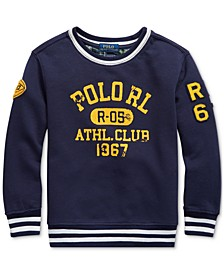 Little Boys Athletic Club Knit Sweatshirt