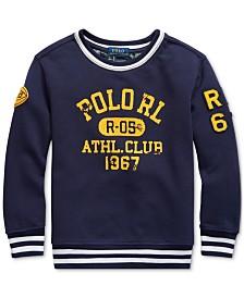 Polo Ralph Lauren Little Boys Athletic Club Knit Sweatshirt