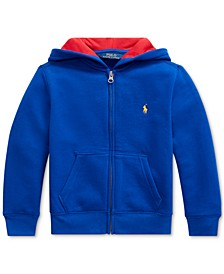 Toddler Boys Hooded Fleece Sweatshirt