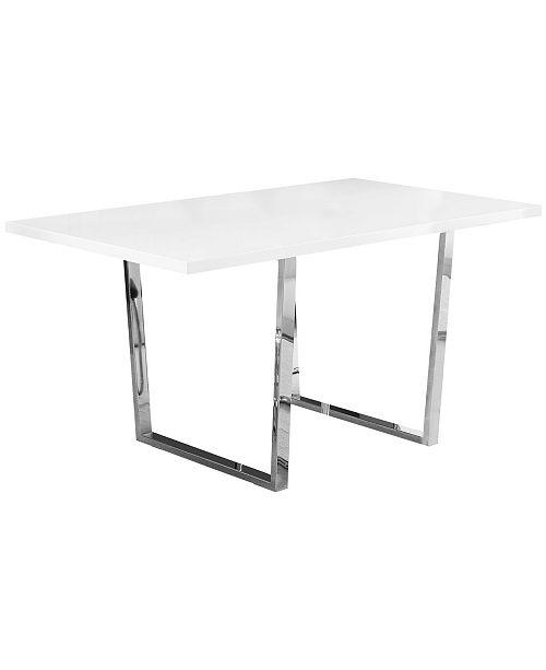 "Monarch Specialties 36"" x 60"" Dining Table"