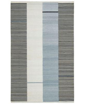 Aryn Stripe LRL7310C Slate 4' X 6' Area Rug