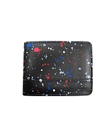 Splatter Printed Wallet