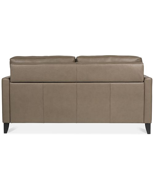 Peachy Priley 70 Leather Queen Sleeper Sofa Pdpeps Interior Chair Design Pdpepsorg