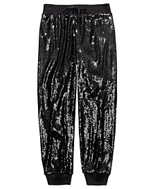 Big Girls Sequined Jogger Pants