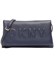 DKNY Tilly Logo Crossbody Clutch, Created for Macy's