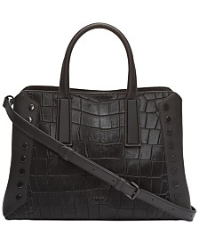 DKNY Ewen Leather Satchel, Created for Macy's