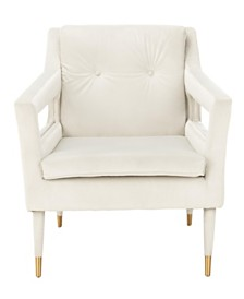 Mara Tufted Accent Chair, Quick Ship