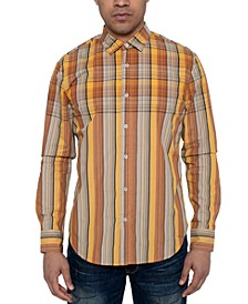 Men's Oversize Repeat Plaid Shirt