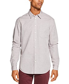 Men's Dobby Print Shirt, Created for Macys