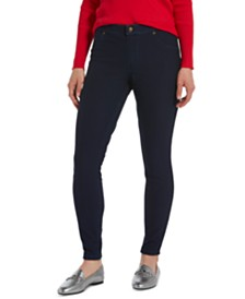HUE® Women's Fleece-Lined Denim Leggings