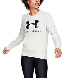 Under Armour Rival Logo Fleece Sweatshirt
