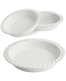 Core Pie Dishes, Set of 3, Created for Macy's