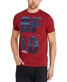 Buffalo David Bitton Men's Tugreen Logo Graphic T-Shirt