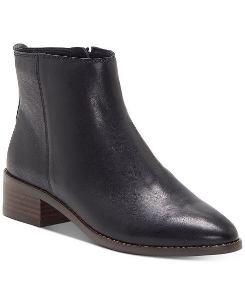 Lucky Brand Women's Lenree Leather Booties