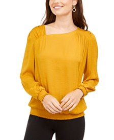 Alfani Asymmetrical Top, Created for Macy's