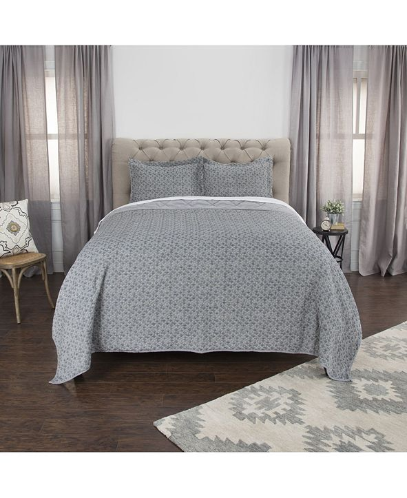 Rizzy Home Riztex USA Giotto Queen Quilt