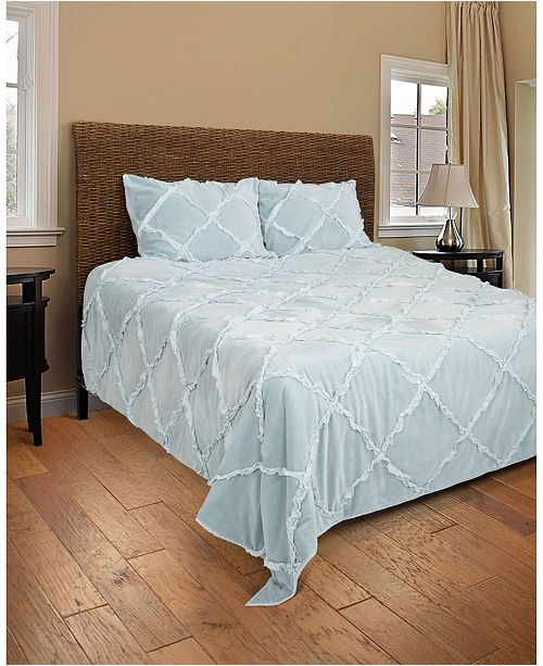 Rizzy Home Riztex USA Posh Queen Quilt
