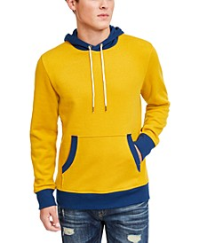 Men's Blocked Trim Hoodie