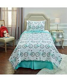 Bicycle Bed Full/Queen 3 Piece Comforter Set