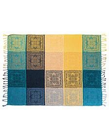 Honey Minx Nicole Richie's Canyon Woven Chenille Throw Blanket