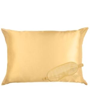Honey Minx Nicole Richie's Silk Eye Mask Pillowcase Set Bedding
