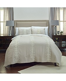 Riztex USA Adela Blush Twin XL Quilt
