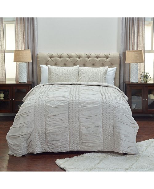 Rizzy Home Riztex USA Carly Twin XL Quilt