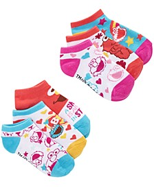 Toddler Girls 6-Pk. Sesame Street Cotton Low-Cut Socks