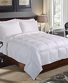 240 Thread Count Baffle Box Down Fiber Comforter, Full/Queen