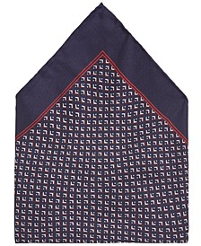 BOSS Men's Rolled Silk Pocket Square