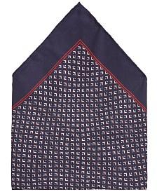 BOSS Men's Rolled Silk Pocket Square