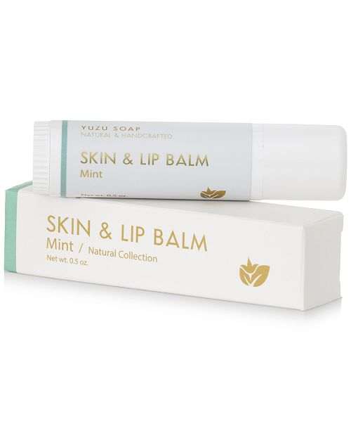 Yuzu Soap Skin & Lip Balm - Mint, 0.5-oz.