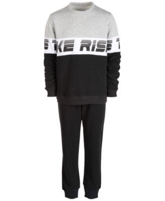 Big Boys Colorblocked Sweatshirt, Created For Macy's