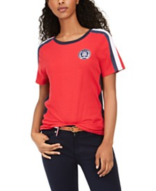 Tommy Hilfiger Scoop-Neck T-Shirt