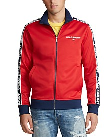 Polo Ralph Lauren Men's Tricot Zip-Front Fleece Sweatshirt