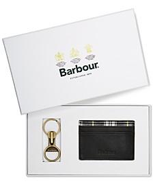 Men's Keychain & Card Holder Set