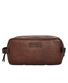 Men's Laddon Leather Wash Bag