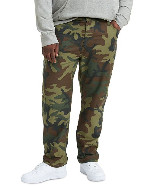 Levi's Men's Big and Tall 541 Athletic Fit Camo Jeans