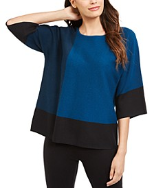 Colorblocked Sweater, Created For Macy's