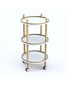 Blythe 3-Tier Bar Cart